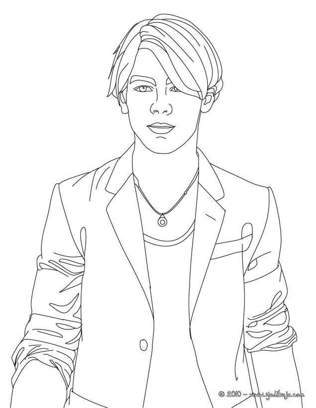 Dibujos para colorear joe jonas - Coloriage chica vampiro ...