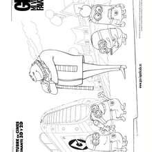 GRU Y LOS MINIONS para colorear - Dibujos para Colorear y Pintar - Dibujos de PELICULAS colorear - Dibujos para colorear GRU MI VILLANO FAVORITO