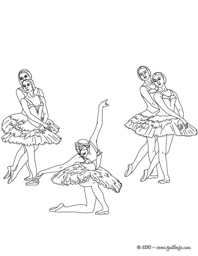 Bonito Zapatos De Ballet Para Colorear Bosquejo - Dibujos Para ...