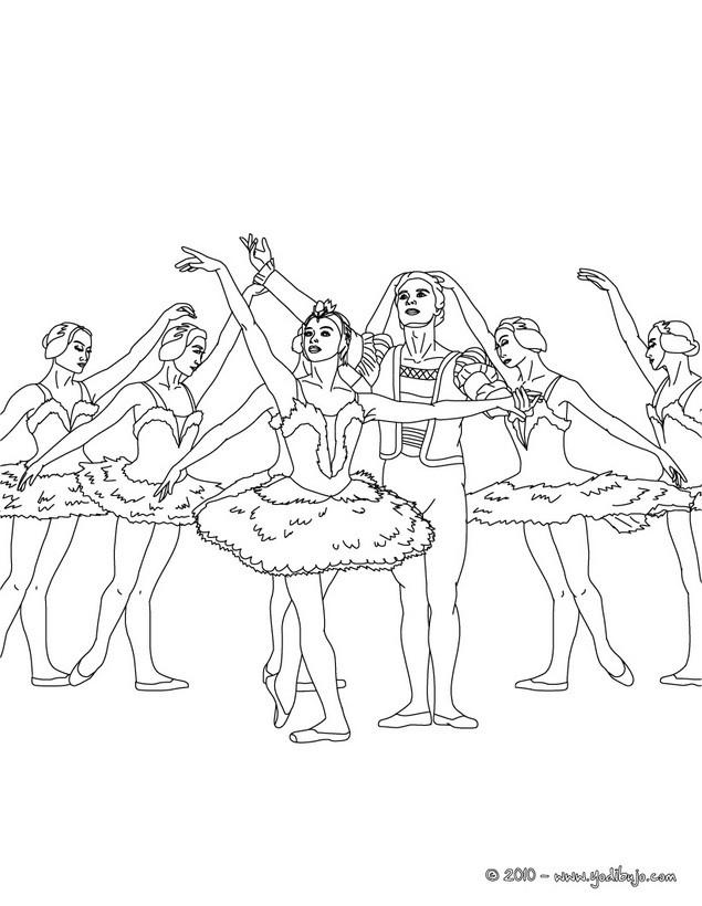 Dibujos de DANZA BALLET para colorear  41 Dibujos para COLOREAR