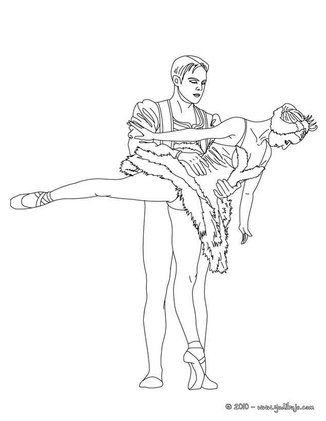 Dibujos De Danza Ballet Para Colorear 41 Dibujos Para