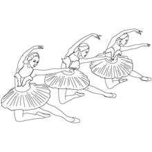 Dibujo para colorear reverencia - Dibujos para Colorear y Pintar - Dibujos para colorear DEPORTES - Dibujos de DANZA BALLET para colorear - Dibujos de BAILARINAS para colorear