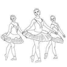 Dibujo para colorear un pointe por bailarinas - Dibujos para Colorear y Pintar - Dibujos para colorear DEPORTES - Dibujos de DANZA BALLET para colorear - Dibujos de BAILARINAS para colorear