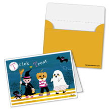 Manualidad infantil : Invitacion disfraces de halloween