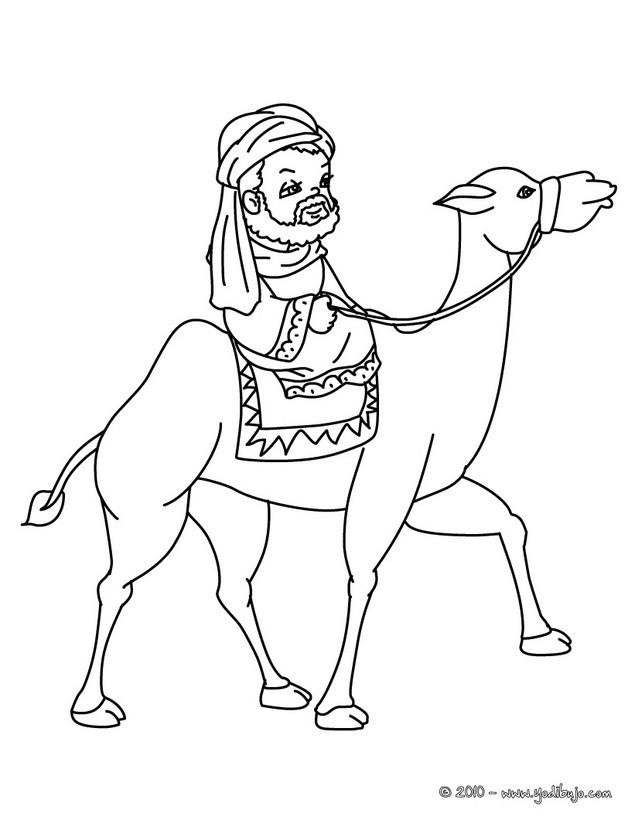 Reyes Magos : Dibujos para Colorear, Manualidades para niños, Dibujo ...