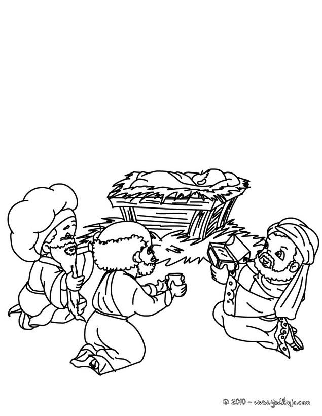 Lujo Colorear Bebé Jesús En Pesebre Inspiración - Dibujos Para ...