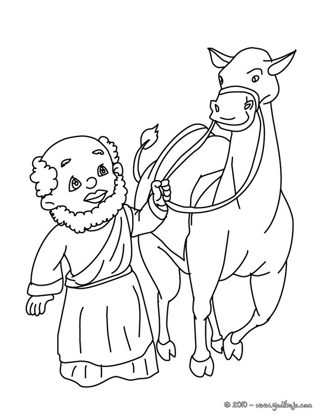 three wise men on camels coloring pages