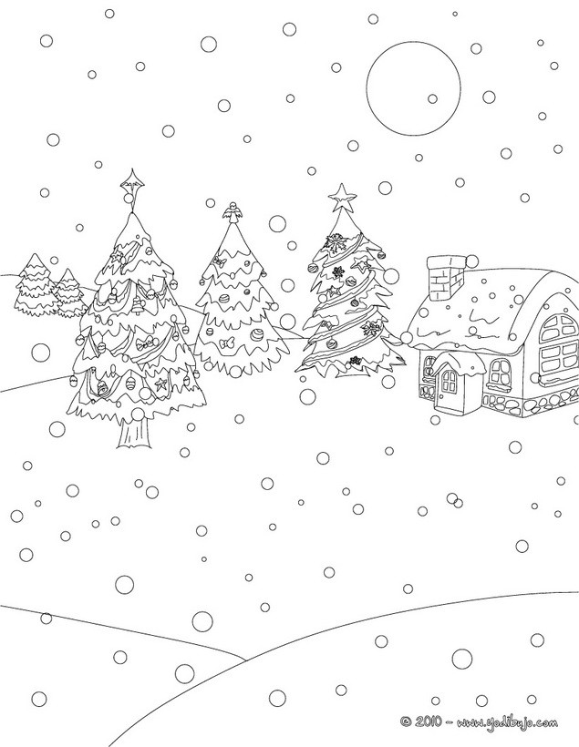 Dibujos para colorear arbol de navidad chistoso  eshellokidscom