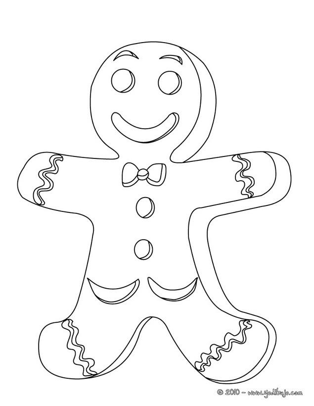 Imagenes de dibujos de navidad para colorear faciles