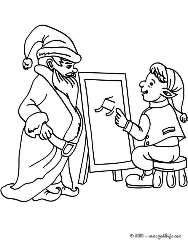 Dibujos navidenos venezolanos para colorear