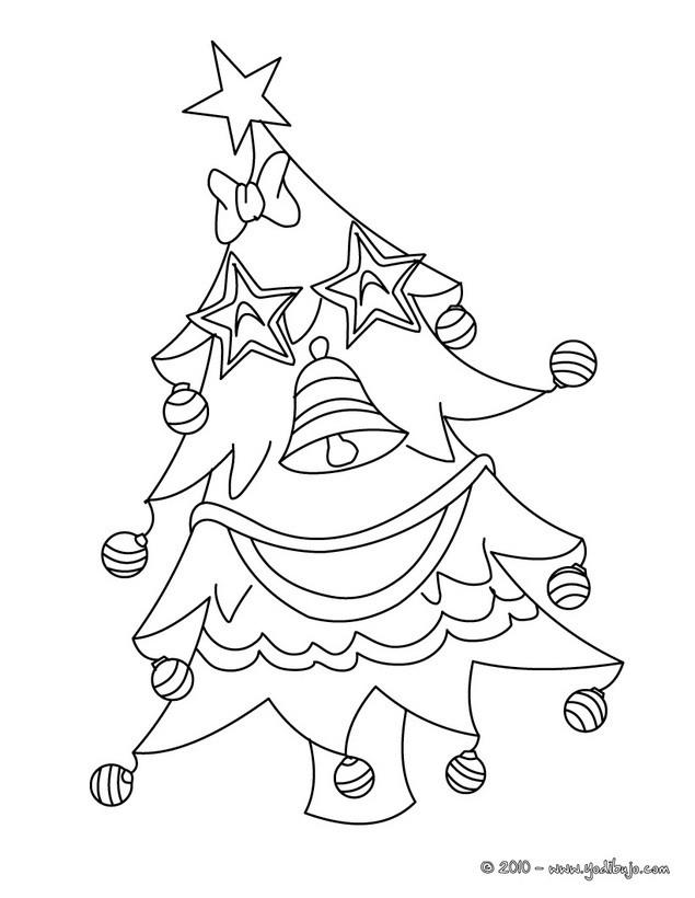 Dibujos para colorear ARBOL DE NAVIDAD  20 imgenes navideas