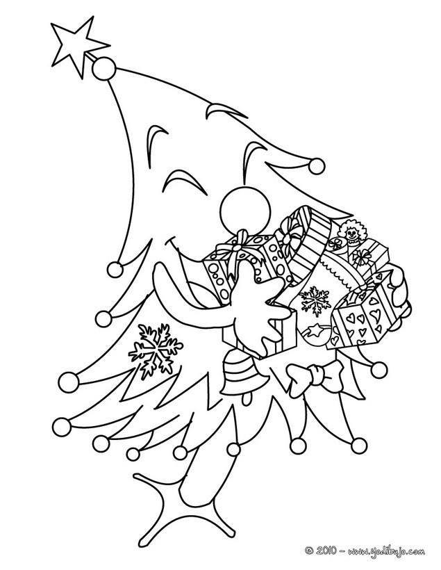 Dibujos de NAVIDAD para colorear - 354 imágenes navideñas para ...
