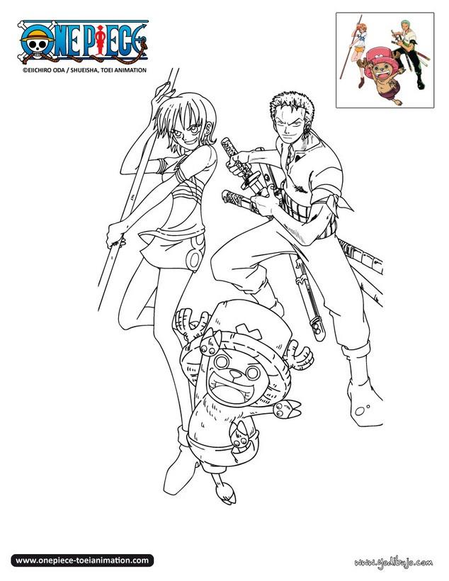 Dibujos Para Colorear One Piece 30 Dibujos Manga Para Colorear Y