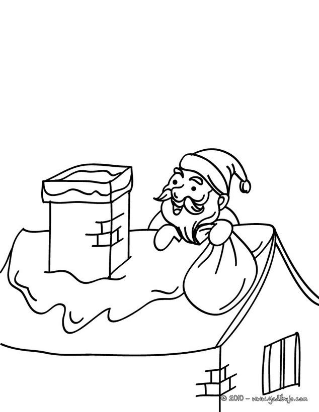 Worksheet. Dibujos para colorear papa noel jugandocon nios  eshellokidscom