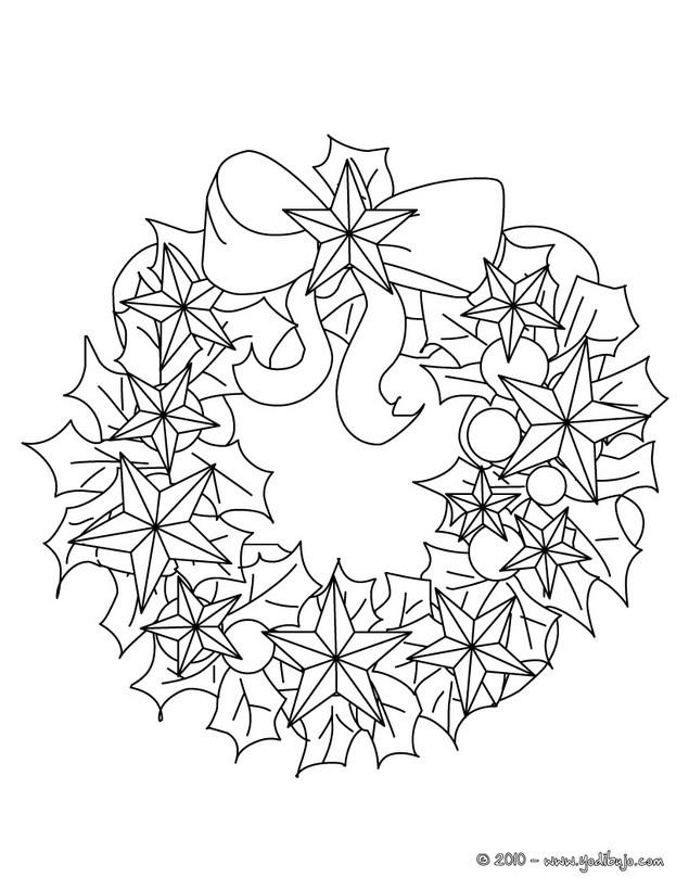 dibujos para colorear de flores de nochebuenas