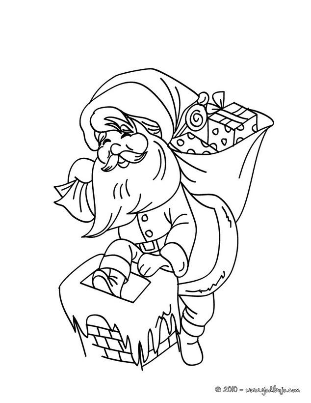 Santa claus : Dibujos para Colorear, Dibujo para Niños, Juegos ...