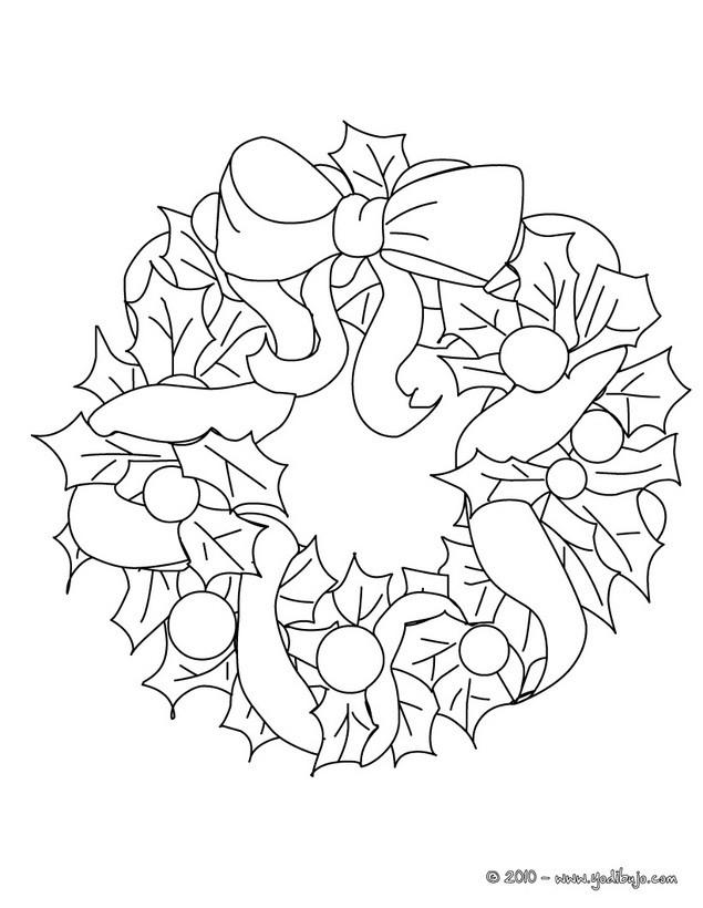 ADORNOS NAVIDEÑOS para colorear - 15 imágenes navideñas para pintar ...
