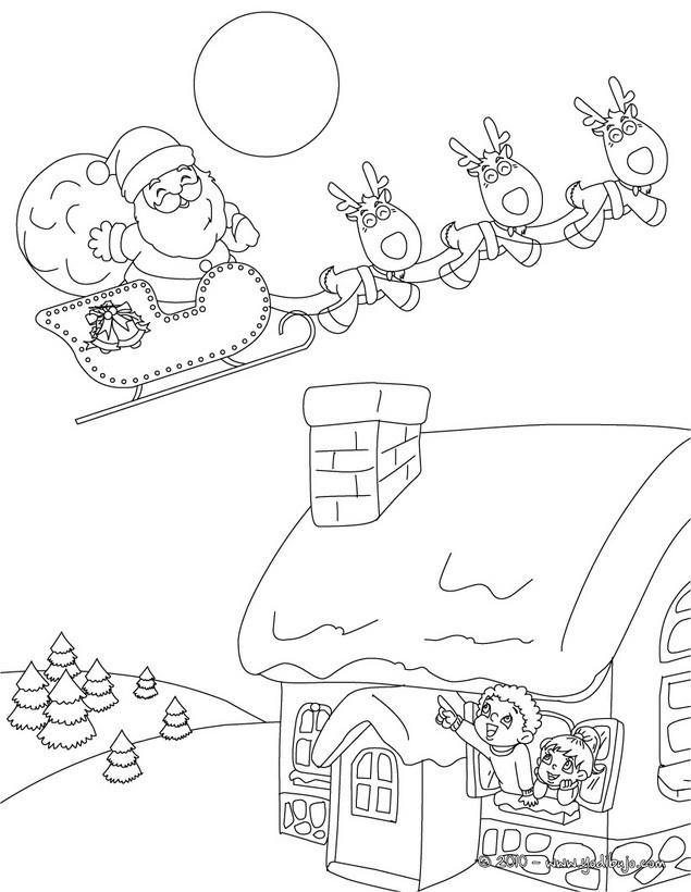 Imagenes de renos de navidad para dibujar