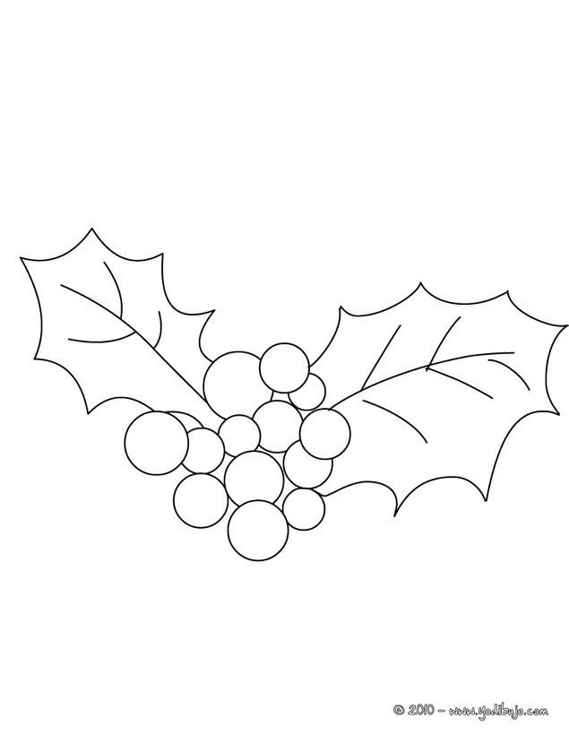 Dibujos para colorear corona de navidad con flores de seda - es ...