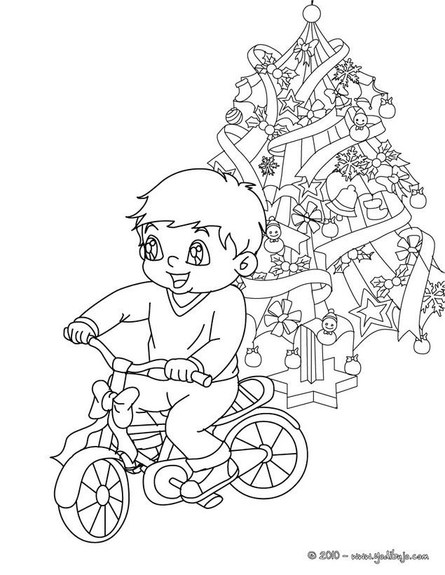 Dibujos para colorear el grinch en un trineo navideño - es.hellokids.com