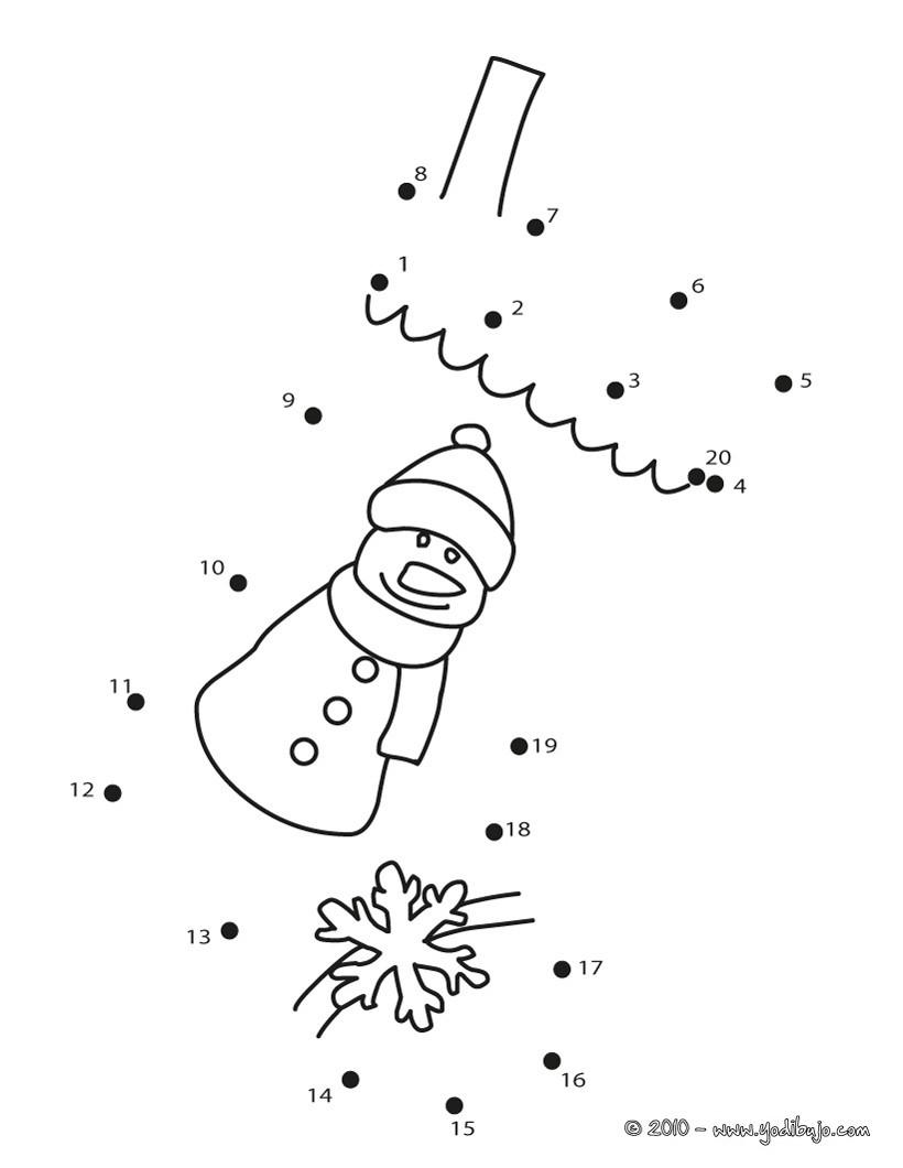 Juegos gratuitos de unir puntos calcetin de navidad - es.hellokids.com