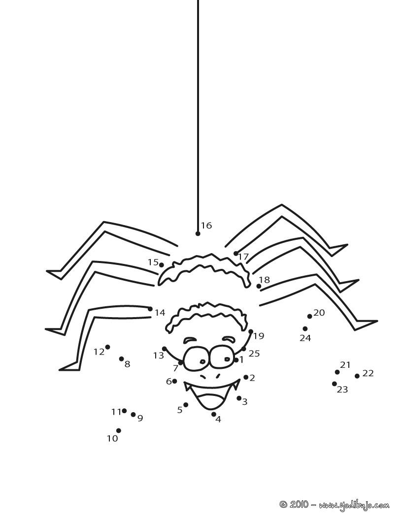 Araña : Dibujos para Colorear, Juegos Gratuitos, Videos y Tutoriales ...