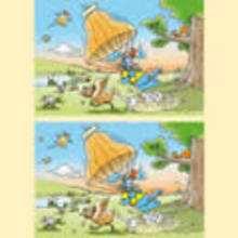 Juego de las diferencias CASTAÑAS - Juegos divertidos - Juegos de DIFERENCIAS para niños - Juegos de DIFERENCIAS para imprimir