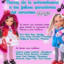 muñeco, Resultados concurso Muñeca Nancy FAMOSA