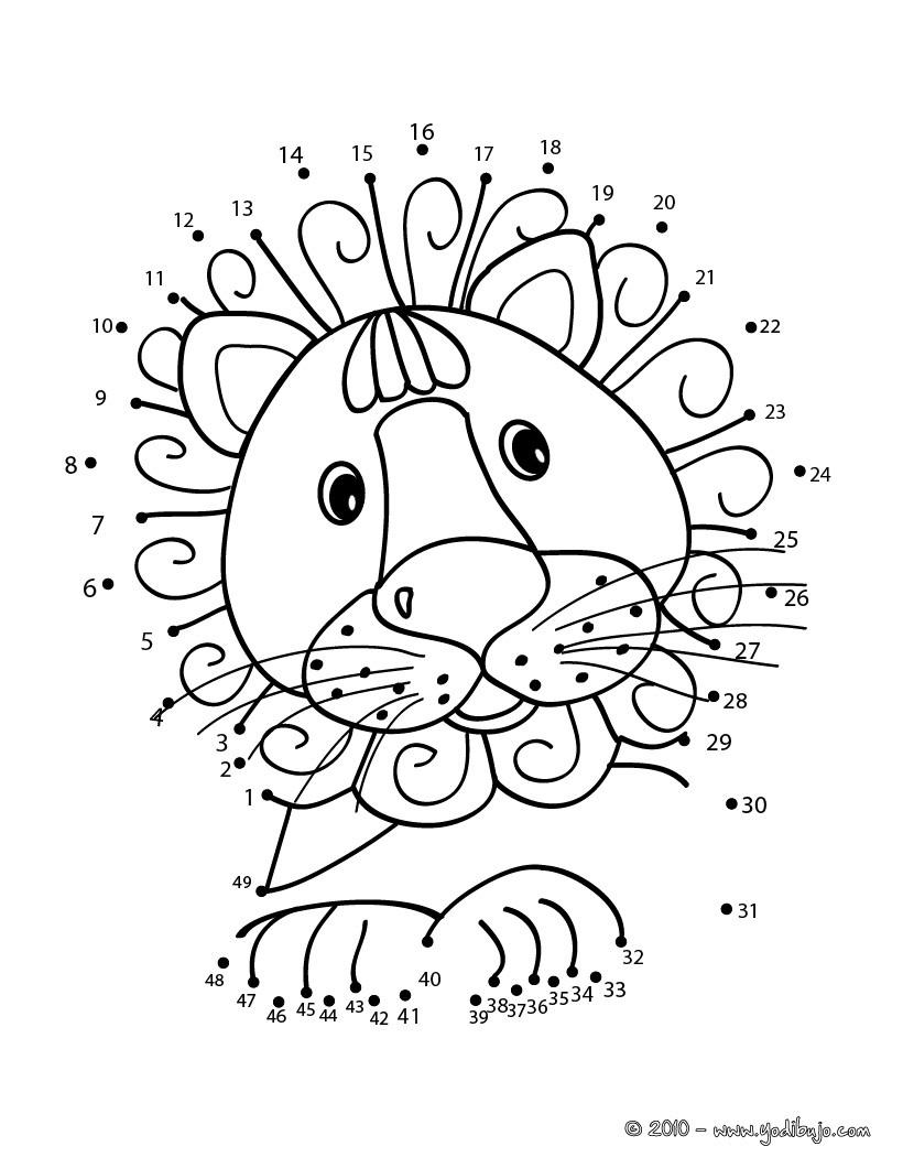 Leon : Dibujos para Colorear, Manualidades para niños, Dibujo para ...