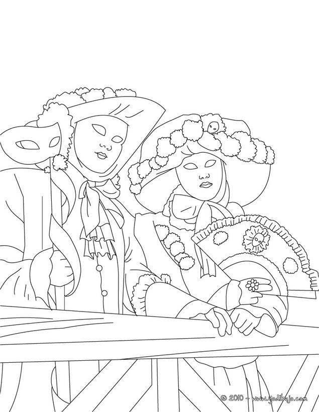 Dibujos de CARNAVAL para colorear  125 laminas de Carnaval para nios