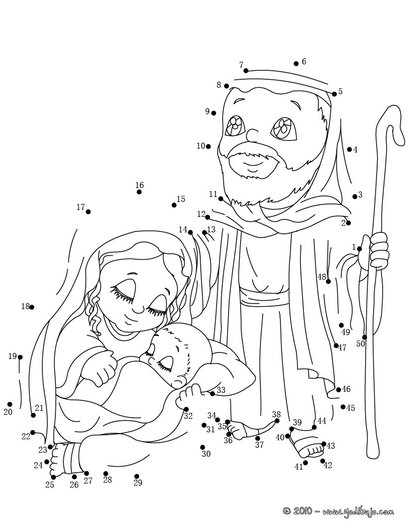 Pasatiempos infantiles unir puntos - Dibujos para colorear - IMAGIXS