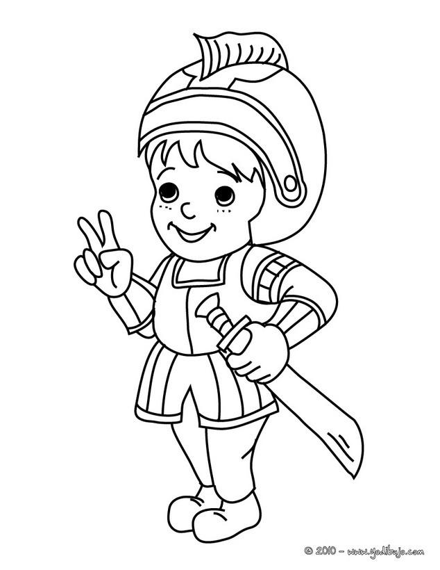 Dibujos de DISFRACES para colorear - 39 laminas de Carnaval para niños