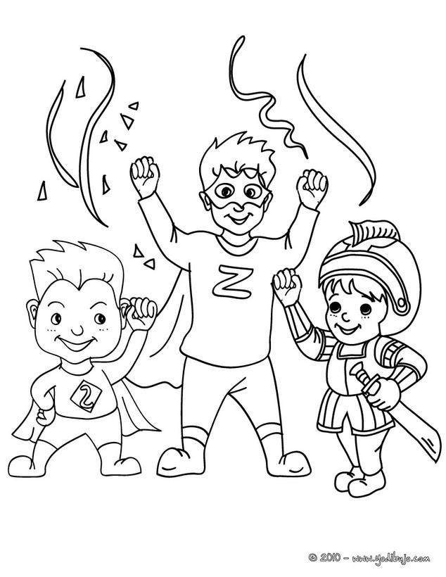 Dibujos para colorear superhéroes - es.hellokids.com