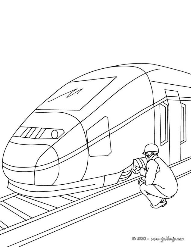Dibujos para colorear los TRENES - #N# dibujos de tren para pintar y ...