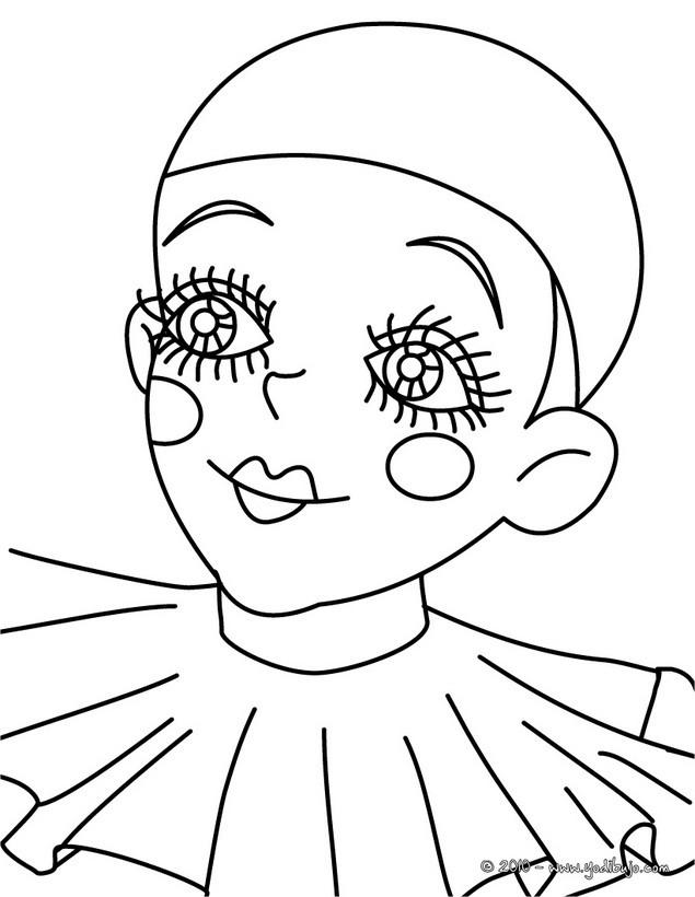 Dibujos de la Comedia del Arte para colorear - 15 laminas de ...