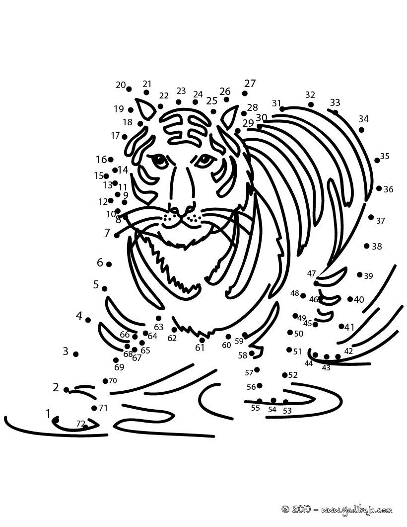 Tigre : Dibujos para Colorear, Juegos Gratuitos, Dibujo para Niños ...