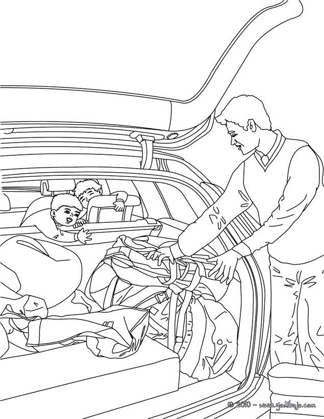 Dibujos para colorear coche viejo  eshellokidscom