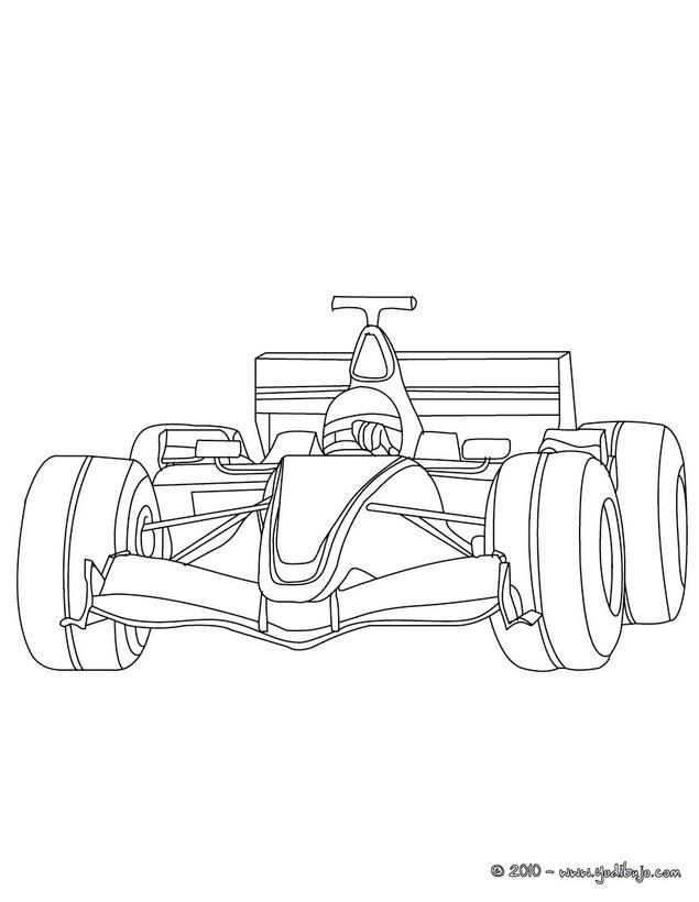 Dibujo para colorear : Formula 1