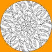 mandala infantil, Dibujos para colorear MANDALAS para jovenes