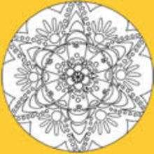 MANDALAS DE FLORES para colorear - Dibujos para colorear MANDALAS - Dibujos para Colorear y Pintar
