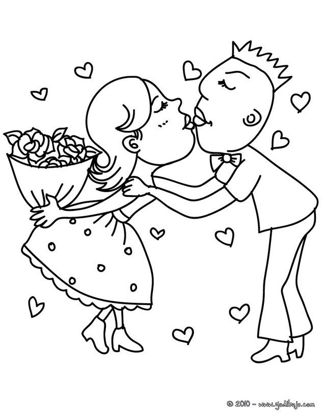 enamorados para colorear - Selo.l-ink.co