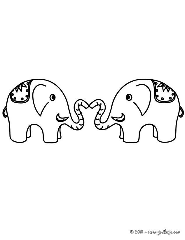 Elefante : Dibujos para Colorear, Dibujo para Niños, Juegos ...