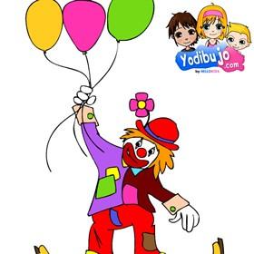 Juegos gratuitos de puzzle payaso con globos  eshellokidscom