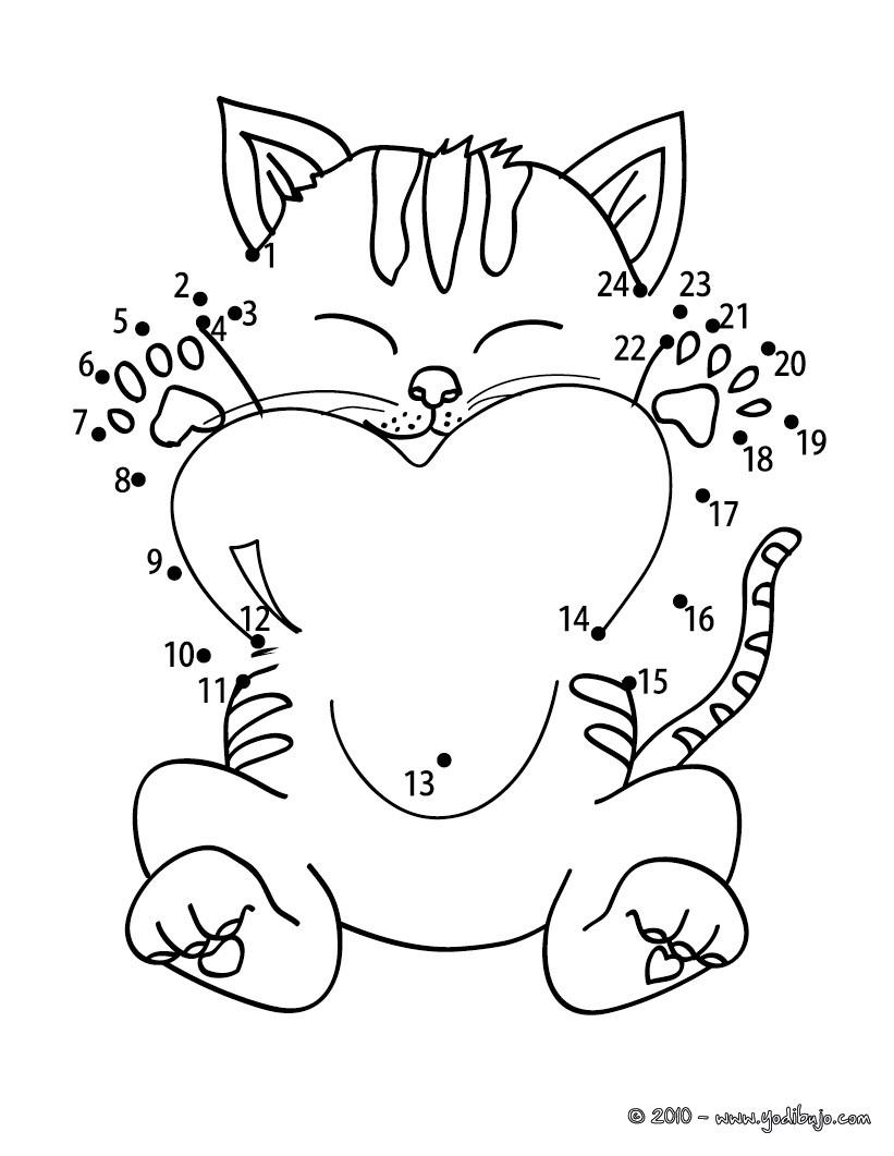 Juegos gratuitos de gato con corazón - es.hellokids.com