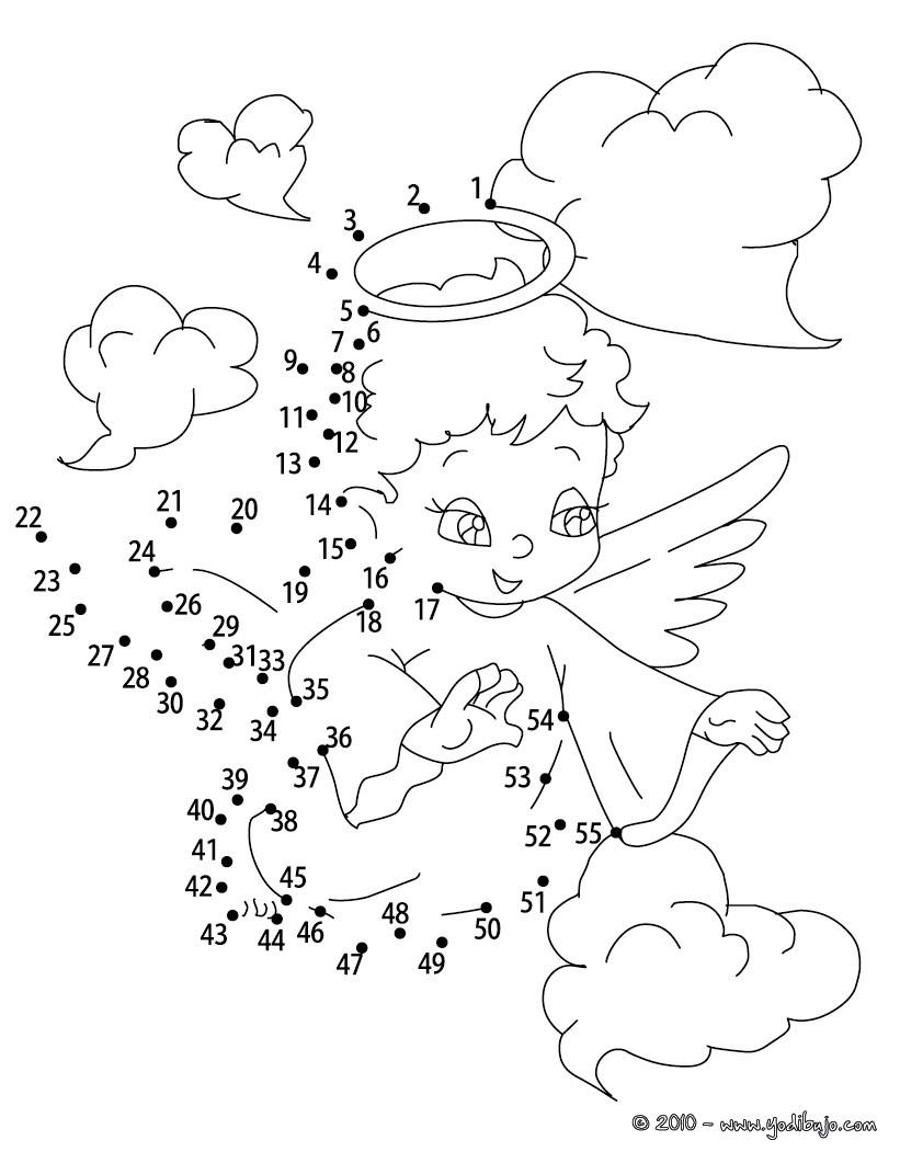 Angel : Dibujos para Colorear, Juegos Gratuitos, Dibujo para Niños ...