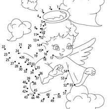 Hoja para imprimir : Angel del Amor