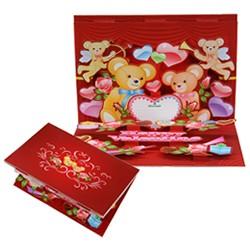 Tarjeta gratis pop up SAN VALENTIN - Manualidades para niños - SAN VALENTIN manualidades infantiles - Tarjetas gratis SAN VALENTIN