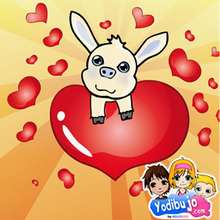 Puzzle en línea : Cariño y Amor