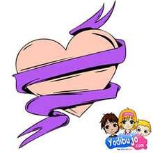Rompecabezas  : Corazón rosa