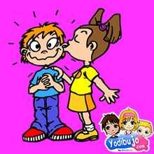 Rompecabezas  : Besos enamorados